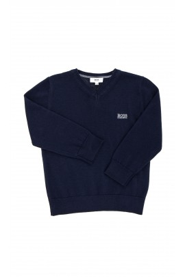 Navy blue boys sweater, Hugo Boss