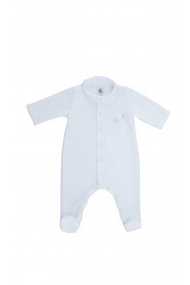 White sleep suit, Petit Bateau