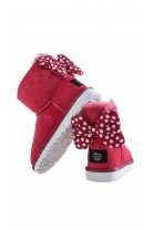 Red bootees SWEETIE BOW, UGG