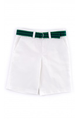 White shorts, Polo Ralph Lauren