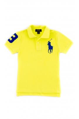 Boys yellow neon polo shirt, Polo Ralph Lauren