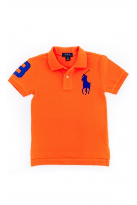 Boys orange polo shirt, Polo Ralph Lauren