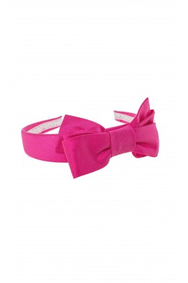 Fuchsia girls hair band, Colorichiari