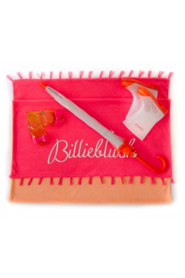 White-and-orange wellingtons, Billieblush