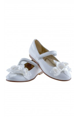 White girls velcro shoes, Monnalisa