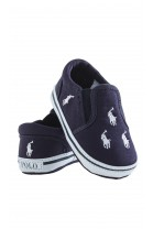 Navy blue baby shoes, Ralph Lauren