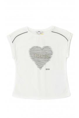 White girls t-shirt, Hugo Boss