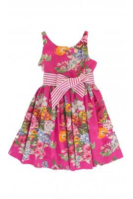 Flowered pink dress, Polo Ralph Lauren