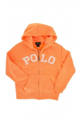 Orange sweatshirt, Polo Ralph Lauren