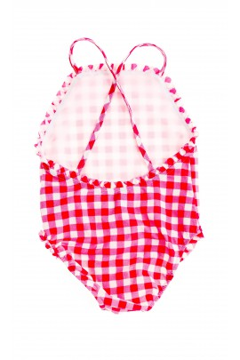 Pink checked swimsuit, Polo Ralph Lauren