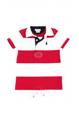 Red-and-white romper, Polo Ralph Lauren
