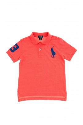 Red boys polo shirt, Polo Ralph Lauren
