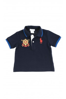 Boys navy blue polo shirt, Polo Ralph Lauren