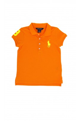 Orange girls polo shirt, Polo Ralph Lauren