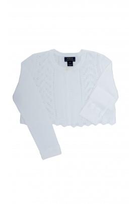 White openwork bolero, Polo Ralph Lauren