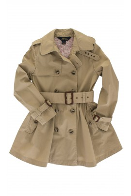 Girls khaki coat, Polo Ralph Lauren