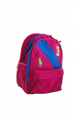 Pink backpack, Polo Ralph Lauren