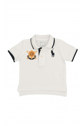 Boys white polo shirt, Polo Ralph Lauren