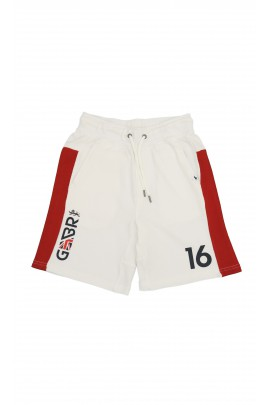 White-and-red sports shorts, Polo Ralph Lauren
