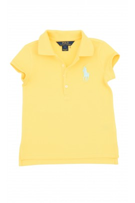Yellow girls polo shirt, Polo Ralph Lauren