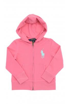 Pink girls sweatshirt, Polo Ralph Lauren