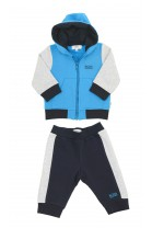 Blue-and-navy blue boys tracksuit, Hugo Boss