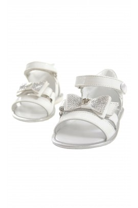 White sandals, Blumarine Baby