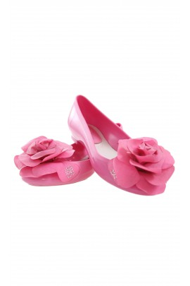Shoes with a rose, Miss Blumarine