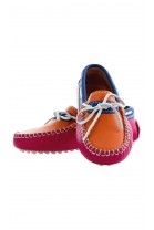 orange moccasins, Atlanta Mocassin