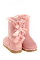 BAILEY BOW RUFFLES pink boots, UGG Australia