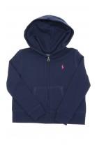 Navy blue hooded sweatshirt, Polo Ralph Lauren