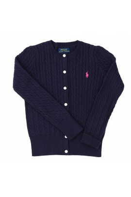 Navy blue cardigan, Ralph Lauren