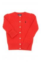 Red cardigan, Polo Ralph Lauren