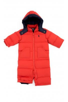 Red babys jumpsuit, Polo Ralph Lauren