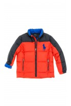 Red-and-black boys jacket, Polo Ralph Lauren