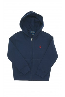 Navy blue hooded sweatshirt, Polo Ralph Lauren