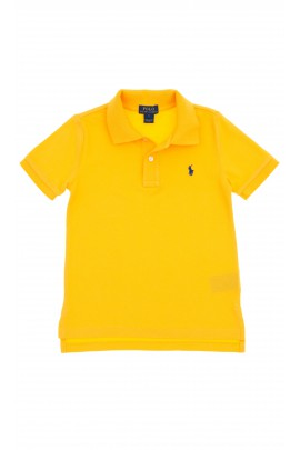 Yellow short-sleeved polo shirt, Polo Ralph Lauren