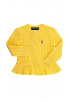 Yellow buttoned sweater, Polo Ralph Lauren