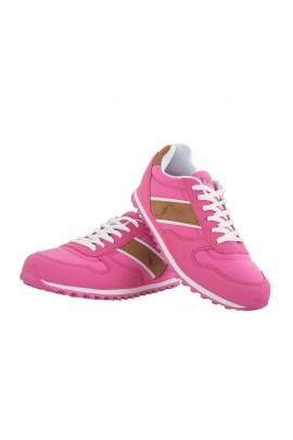 Pink sports shoes, Polo Ralph Lauren