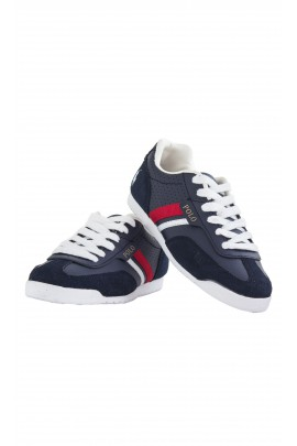 Elegant, navy blue sports shoes, Polo Ralph Lauren