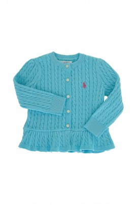 Turquoise sweater, Polo Ralph Lauren