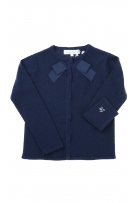 Navy blue girl sweater, Tartine et Chocolat