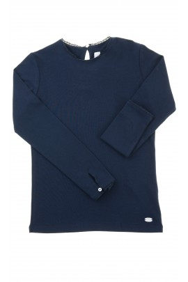 Navy blue girl blouse, Tartine et Chocolat