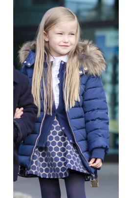 Navy blue girl jacket, Tartine et Chocolat