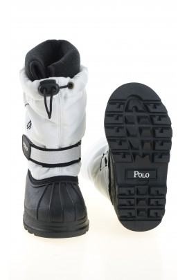 White-and-black snow boots, Polo Ralph Lauren