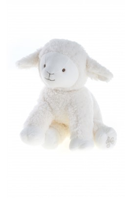 Sheep soft toy 25 cm, écru, Tartine et Chocolat