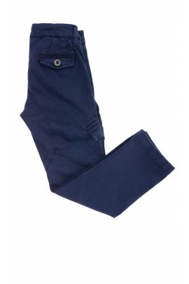 Navy blue boy trousers, Aston Martin