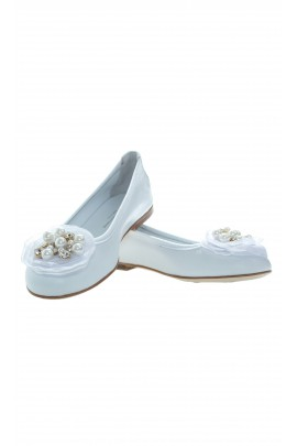 White shoes, Miss Blumarine