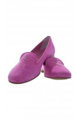 Pink shoes, Miss Blumarine