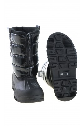 Black girl snow boots, GUESS